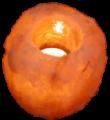 Свеќник од хималајска сол, Природна форма, ≈1 кг.