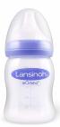 Lansinoh шише за хранење 160ml со цуцла во природна форма рефус