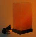 Лампа од хималајска сол, USB, Квадар, ≈1 кг.
