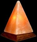 Лампа од хималајска сол, Пирамида, ≈2 кг.