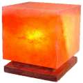 Лампа од хималајска сол, Коцка, ≈3 кг.