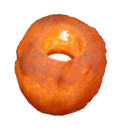 Свеќник од хималајска сол, Природна форма, ≈500 г.