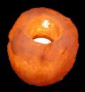Свеќник од хималајска сол, Природна форма, ≈800 г.