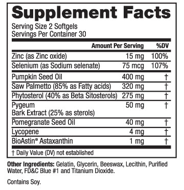 supplement-facts-prost-aid